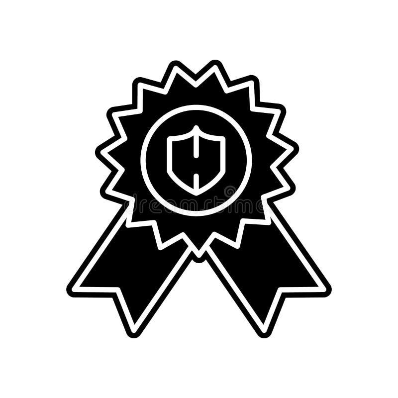 Récompense, icône de garantie Élément du projet de données générales pour le concept et l'icône mobiles d'applis de Web Glyph, ic illustration de vecteur