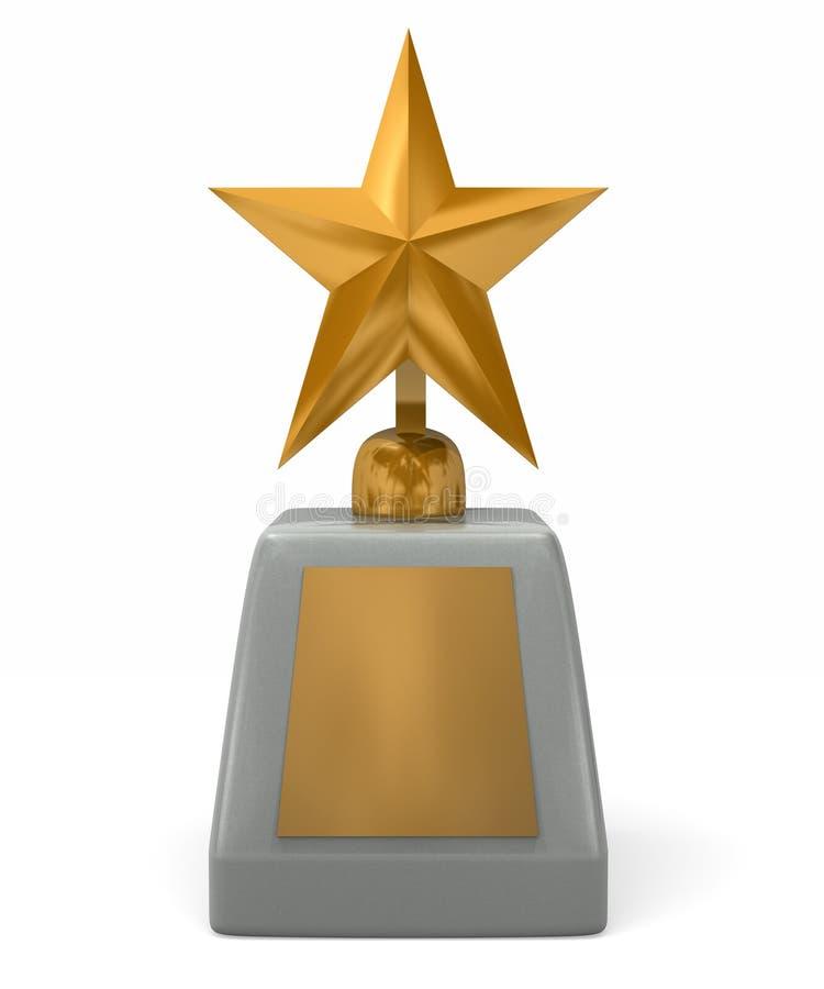 Récompense Shinning d'étoile photos libres de droits