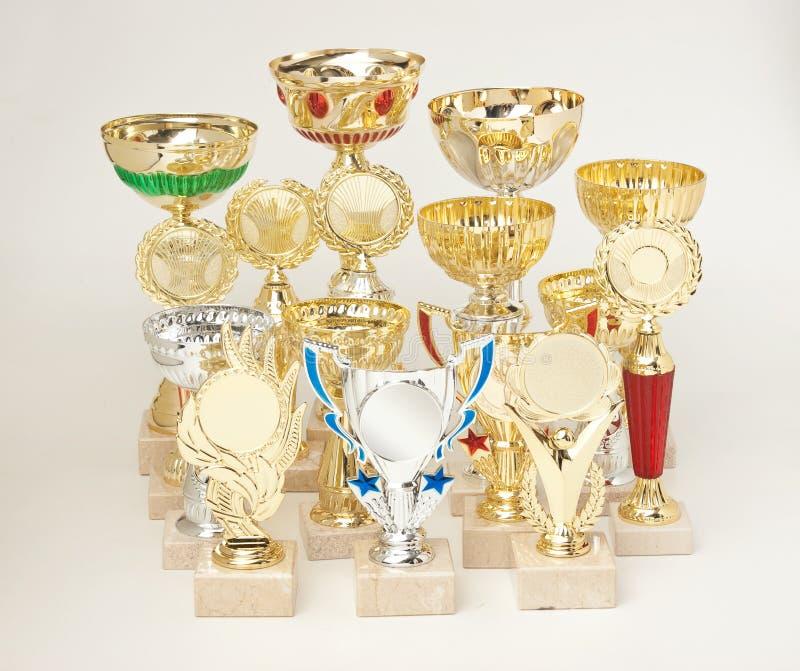 Récompenses de sports image libre de droits
