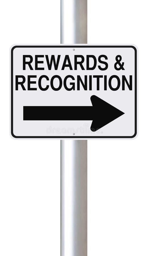 Récompenses et reconnaissance photo libre de droits