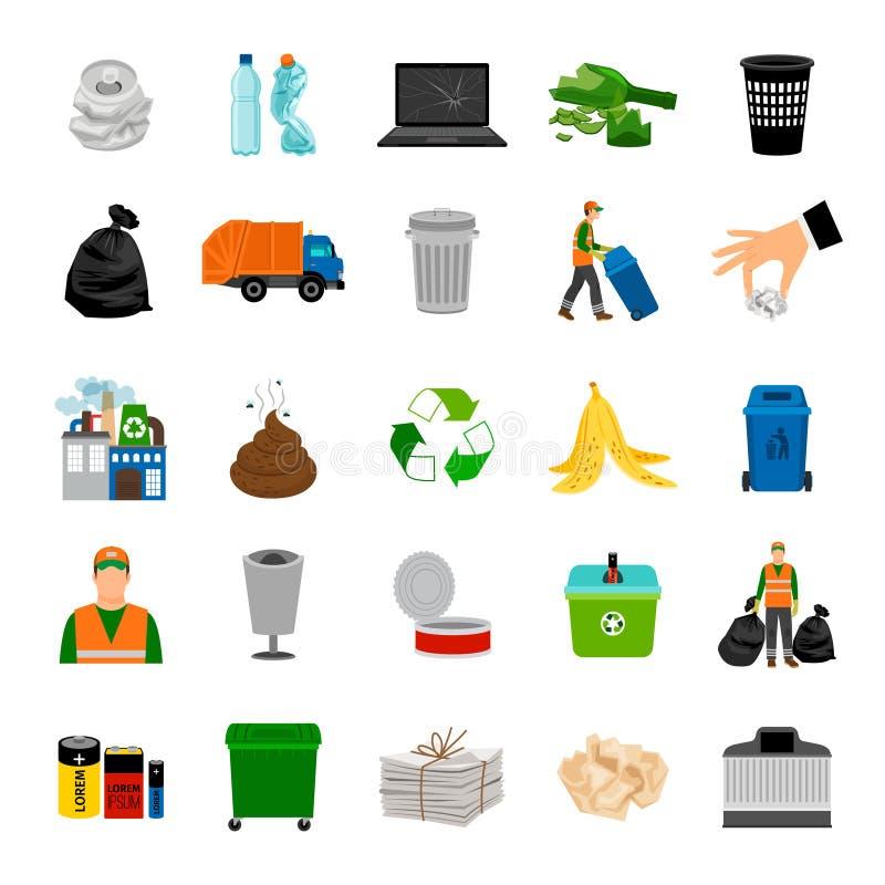Récupération de place d'icônes de couleur illustration libre de droits