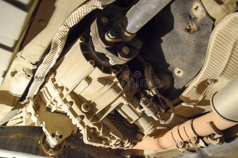 Réducteur de transmission de couple à l'essieu arrière de la voiture Service de véhicule image libre de droits