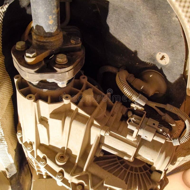 Réducteur de transmission de couple à l'essieu arrière de la voiture Service de véhicule photos libres de droits