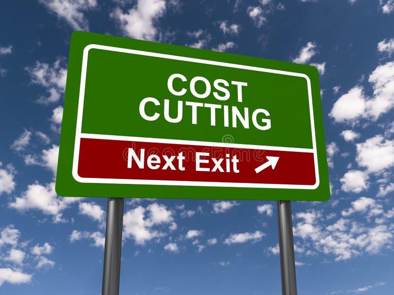 Réduction des coûts, prochaine sortie photos stock