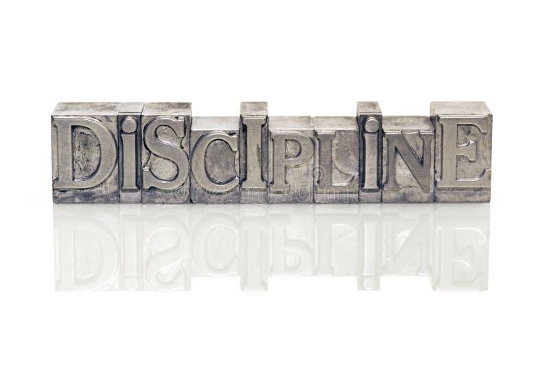 Référence de discipline image stock