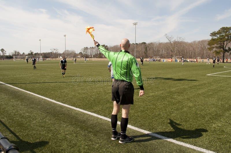 Référence du football images libres de droits