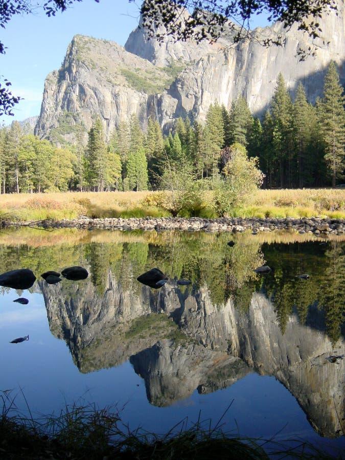 Réflexion 2 de Yosemite image libre de droits