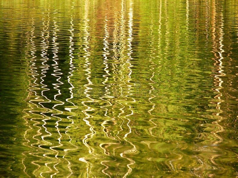 Réflexion dans l'eau image stock