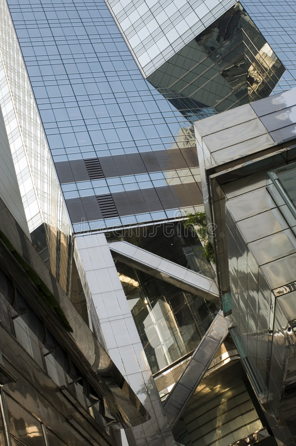Réflexion de Hong Kong images stock