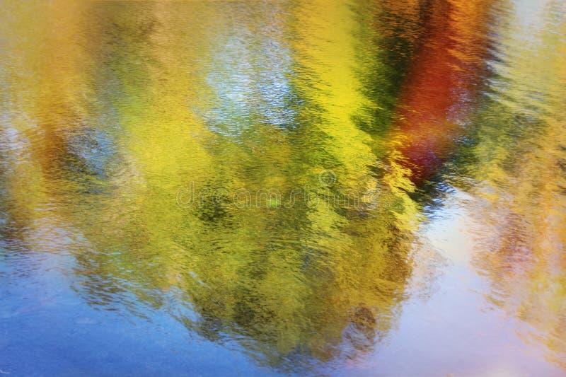 Réflexion de l'eau image stock