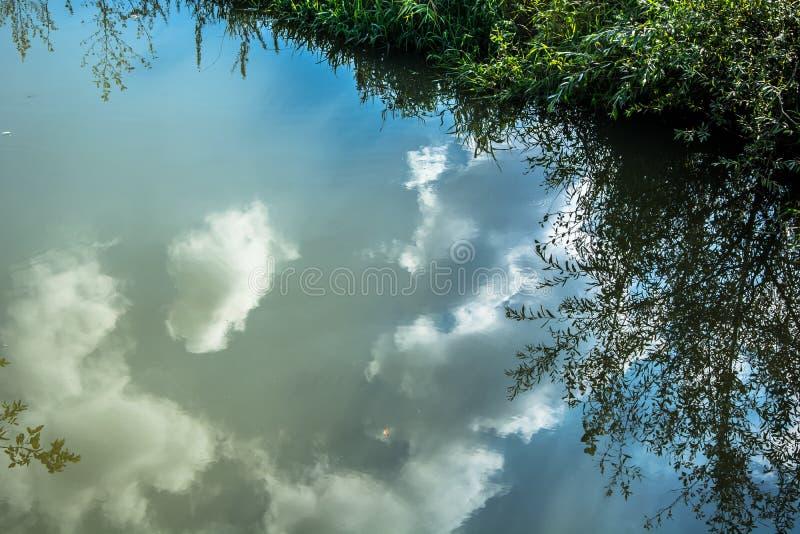Réflexion de l'eau photographie stock libre de droits