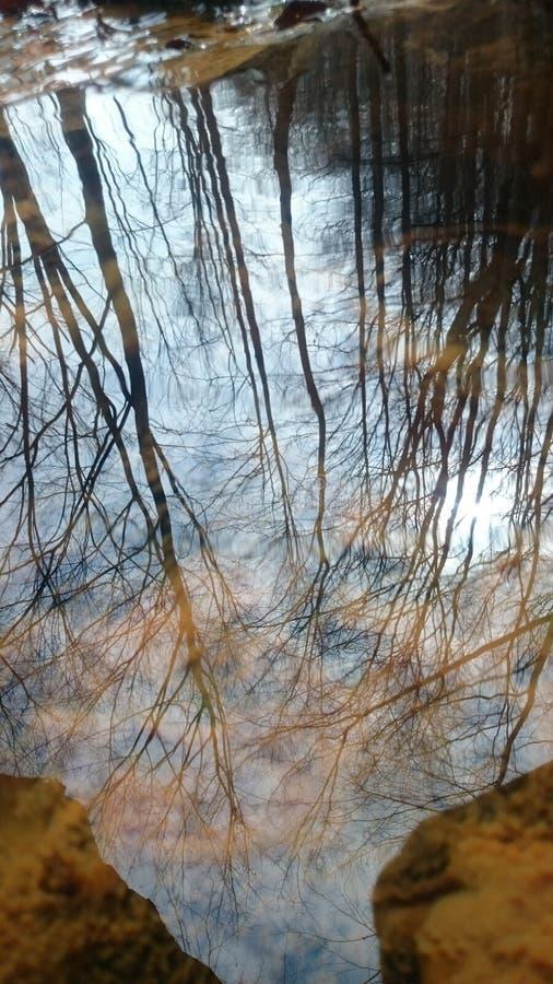 Réflexion 2 de l'eau photos stock