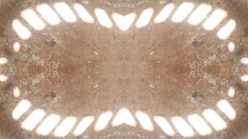 Réflexion de la lumière sur le plancher illustration stock