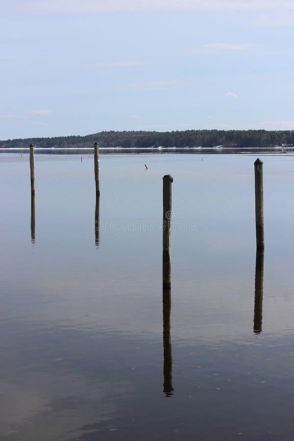 Réflexion sur Brandy Pond photos stock