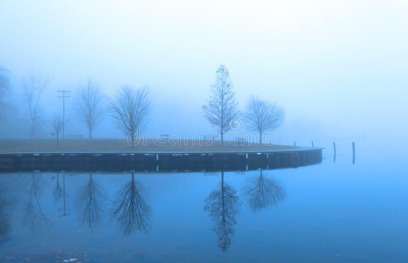 Réflexions d'hiver image stock