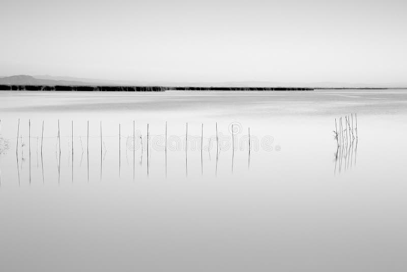 Réflexions dans le lac photos libres de droits