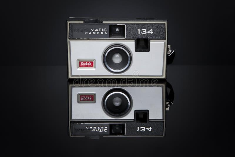 Réflexions de Kodak photos libres de droits