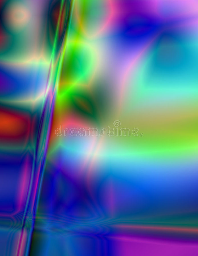Réflexions en verre illustration stock