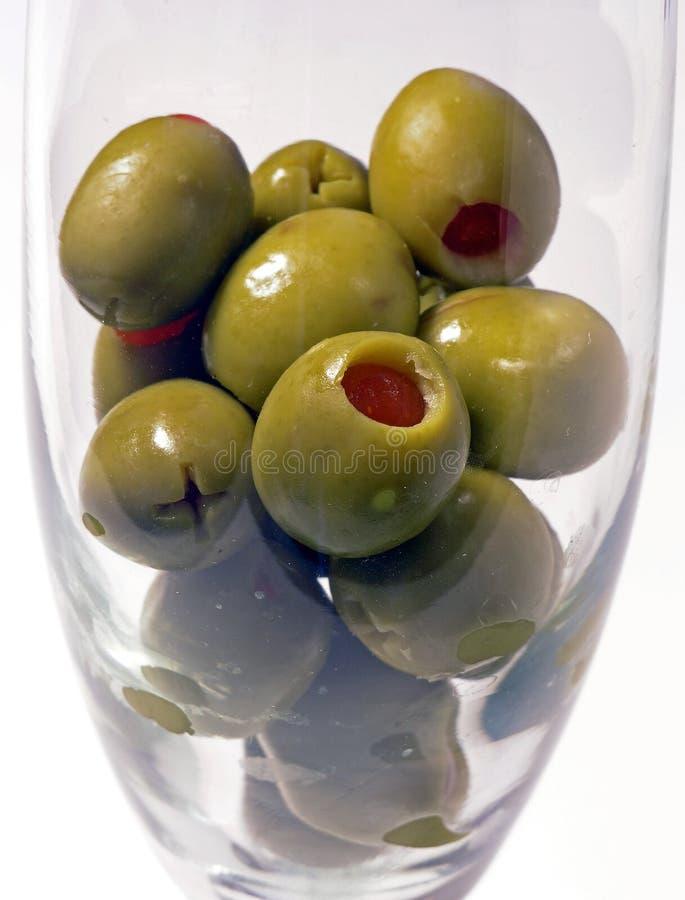 Réflexions olives image libre de droits