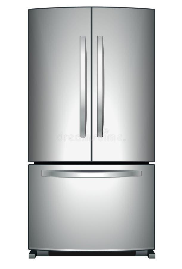 Réfrigérateur illustration libre de droits
