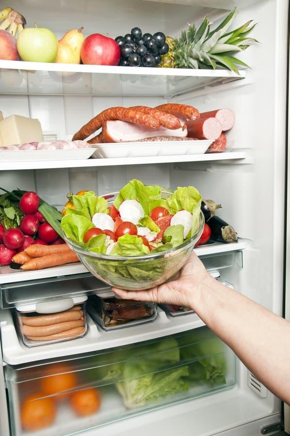 Réfrigérateur photo stock