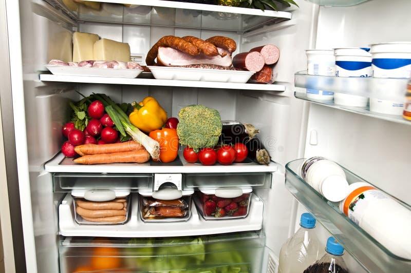 Réfrigérateur photographie stock libre de droits