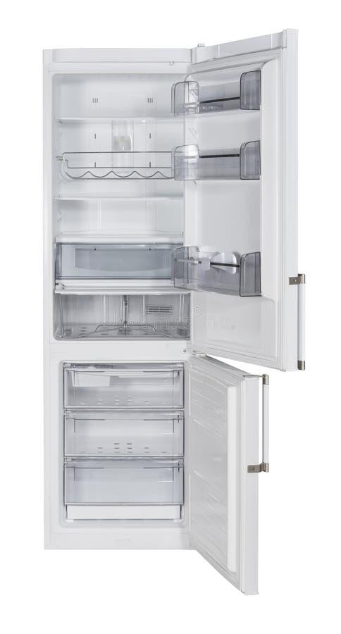 Réfrigérateur blanc photographie stock libre de droits