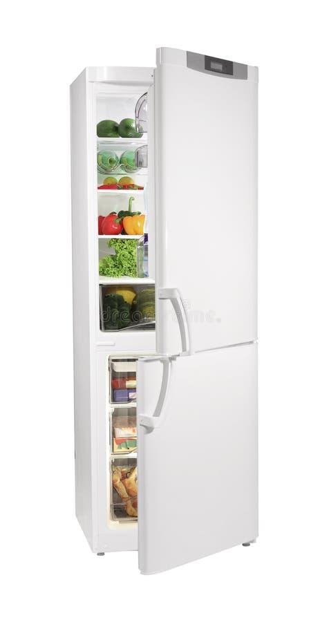 Réfrigérateur blanc photos libres de droits