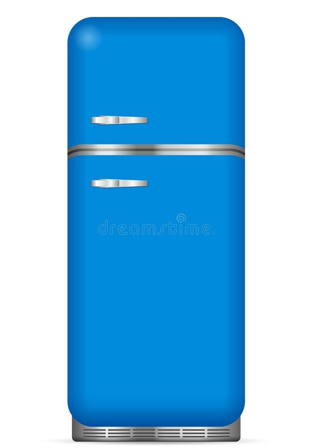 Réfrigérateur classique illustration stock