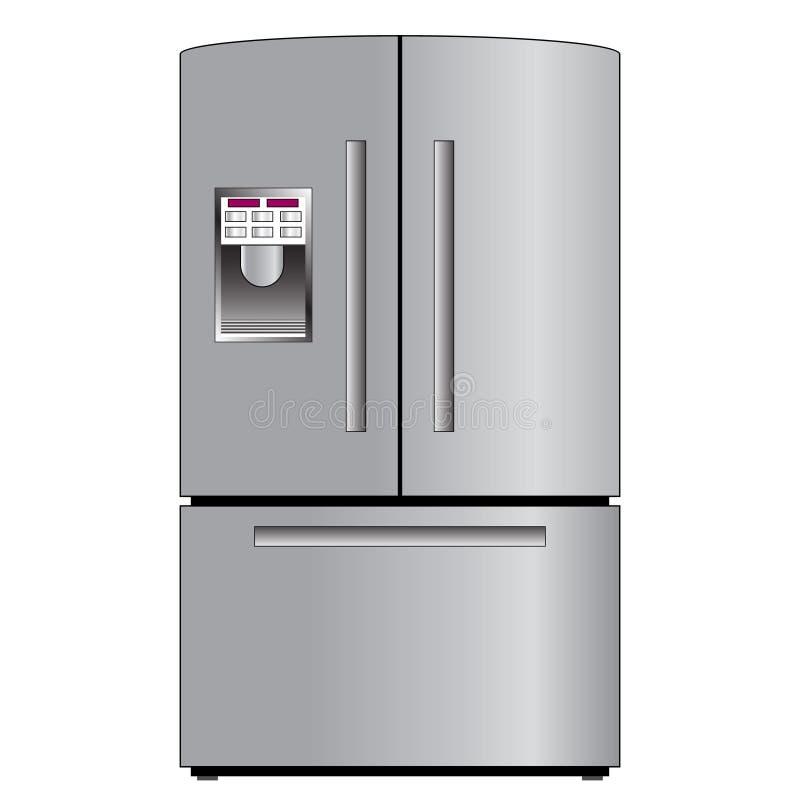Réfrigérateur ou réfrigérateur images stock