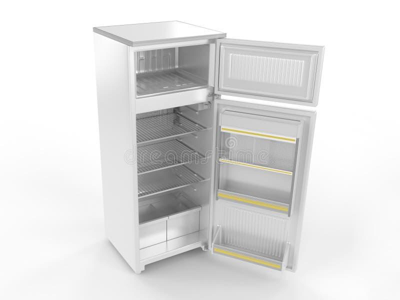 Réfrigérateur (ouvrez-vous) illustration libre de droits