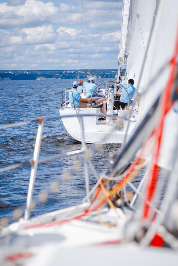 Régate de yacht photographie stock libre de droits