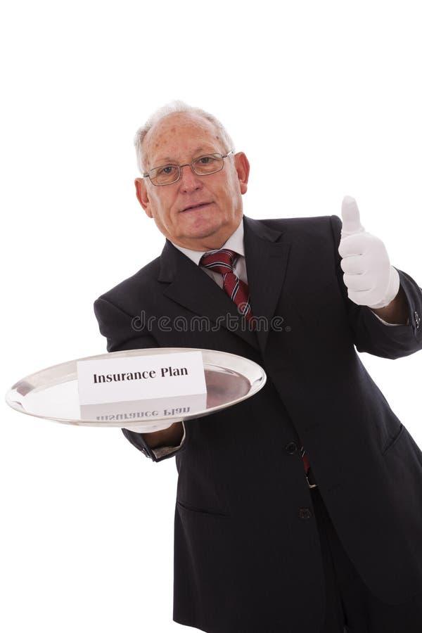 Régime d'assurance photo stock
