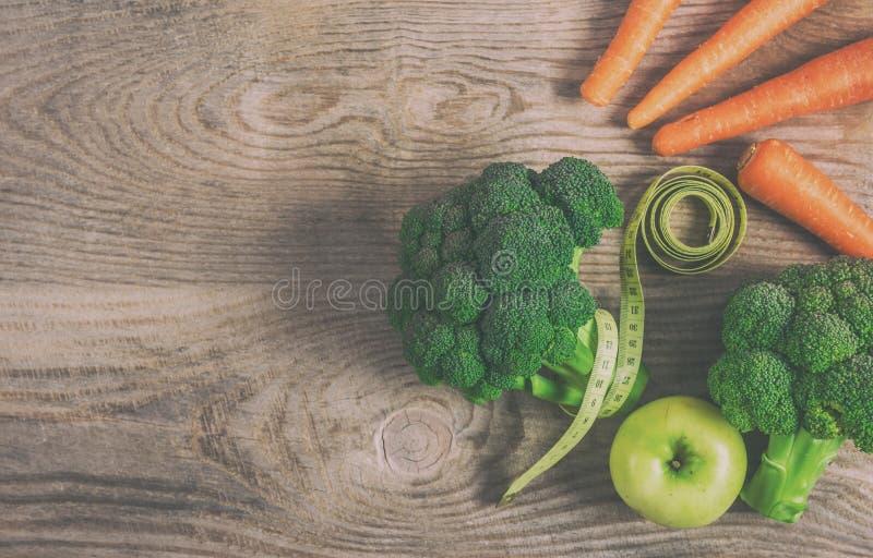 Régime de légumes pour la perte de poids image libre de droits