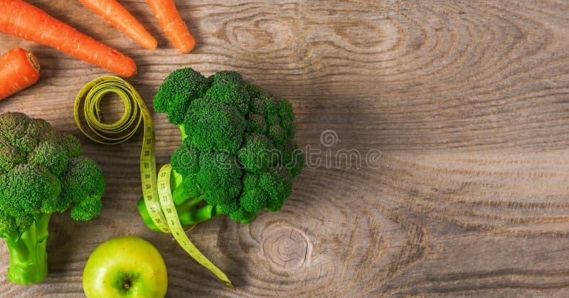 Régime de légumes pour la perte de poids photographie stock