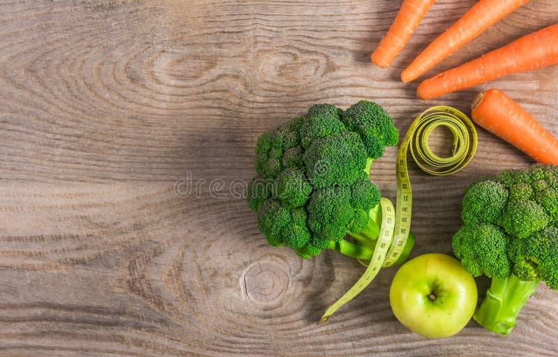 Régime de légumes pour la perte de poids photo libre de droits