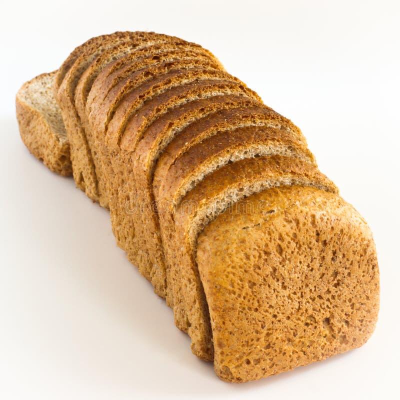 Régime de pain avec le son. image stock