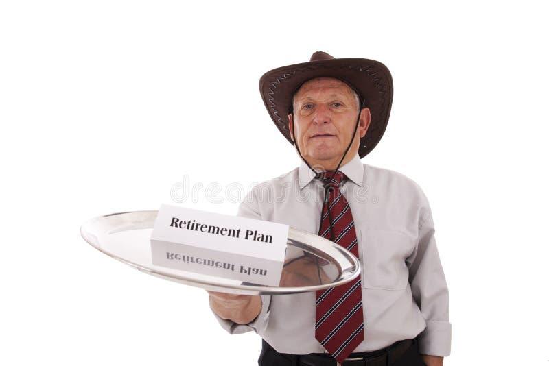 Régime de retraite photographie stock