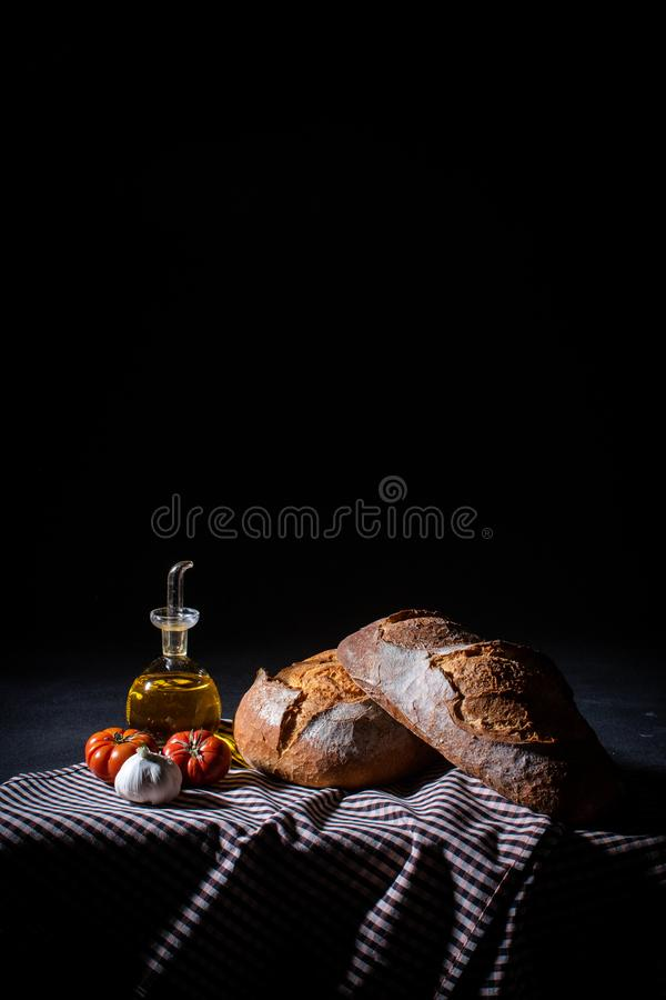 régime méditerranéen de petit déjeuner photo libre de droits