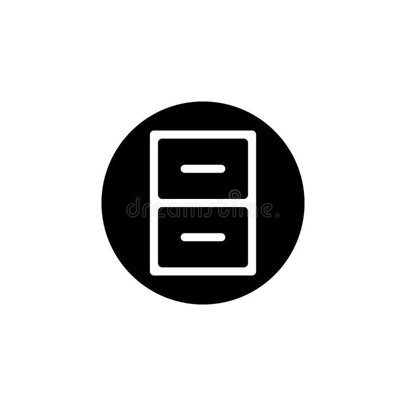 régiment dans une icône de cercle Élément d'icône minimalistic pour les apps mobiles de concept et de Web Signes et icône de coll illustration libre de droits