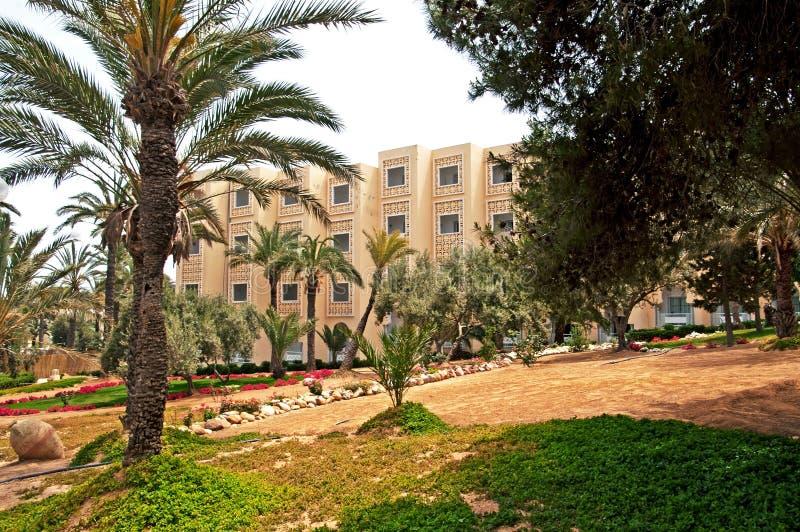 Région d'hôtel dans Sousse, Tunisie photographie stock