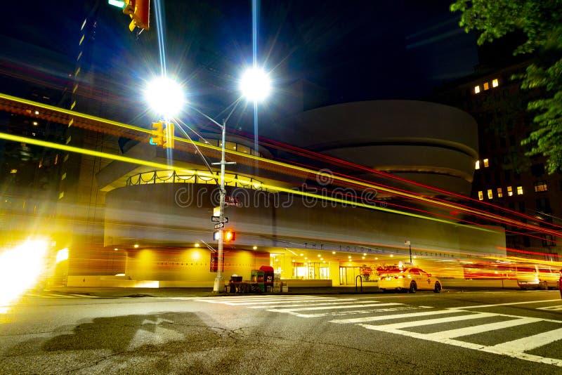 Région de Central Park de mille de musée de côté est de stimulant de New York City à n images libres de droits
