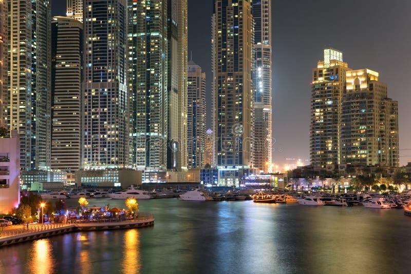 Région de Dubaï - marina de Dubaï image stock