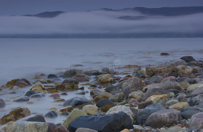 Région de la mer de Barents, Mourmansk, Russie image libre de droits