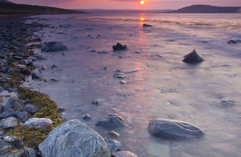 Région de la mer de Barents, Mourmansk, Russie image stock