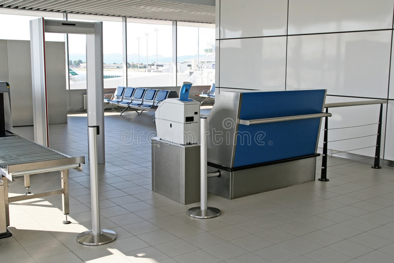 Région de porte d'aéroport photographie stock libre de droits