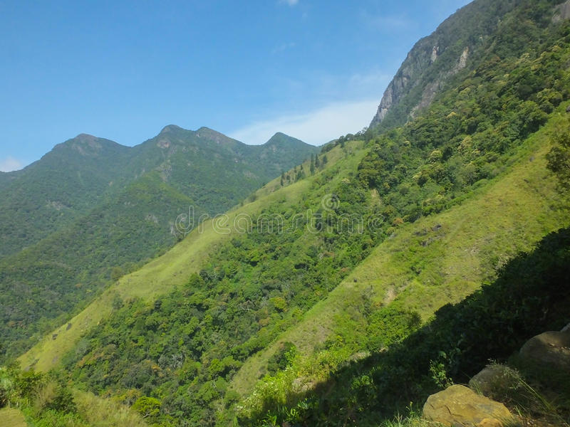 Région de Sri Lanka Beutifull images libres de droits