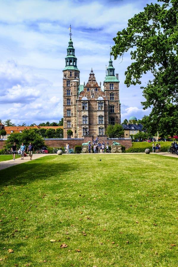 Région du Danemark - de la Zélande - centre de la ville de Copenhague - vi panoramique images stock