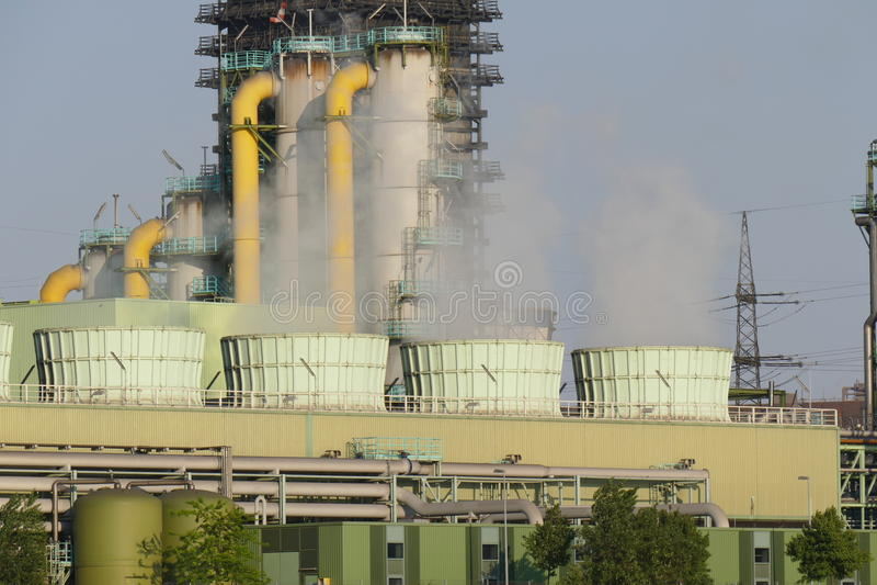 Région industrielle photos stock