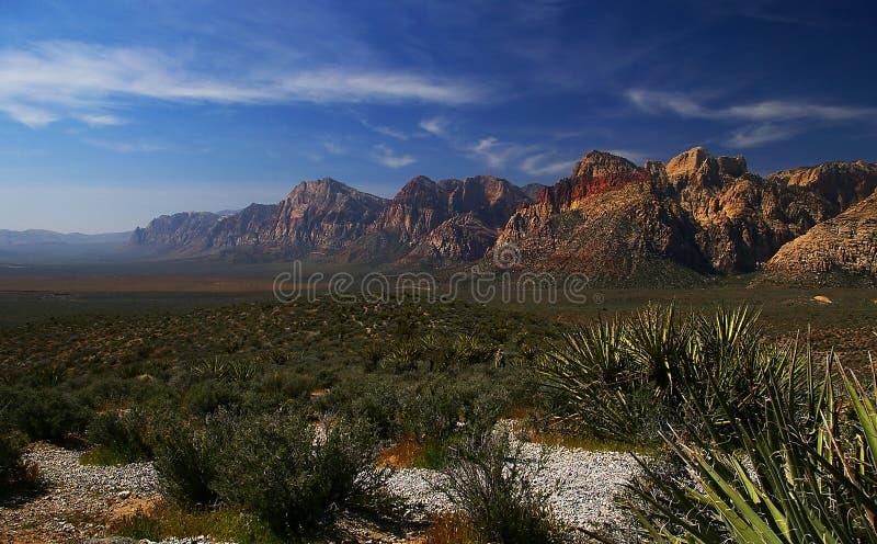 Région nationale d'économie de gorge rouge de roche, Nevada image libre de droits